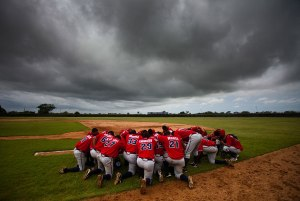 SAN PEDRO de MACORIS, DOMINICAN REPUBLIC. The Dominican Braves b